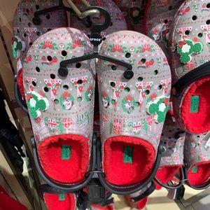 Light up Disneyland Christmas Crocs